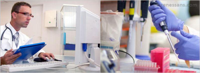 Применение необходимого лабораторного оборудования